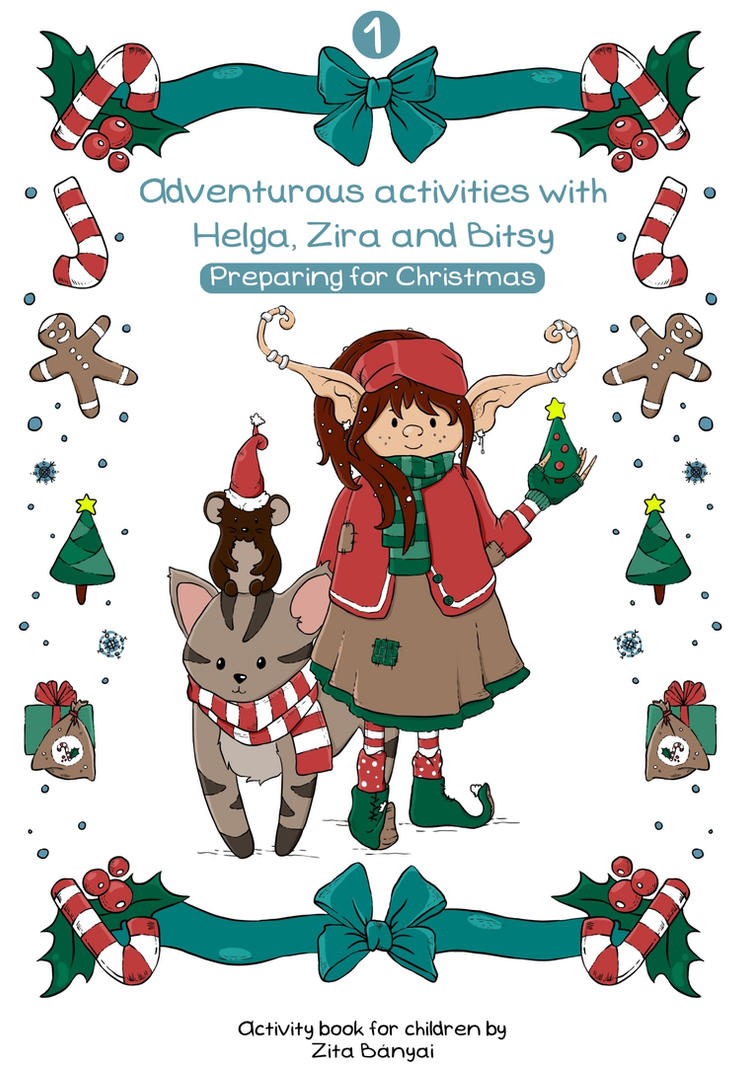Preparing For Christmas Activity Book Published By Painted Leaf On DeviantArt