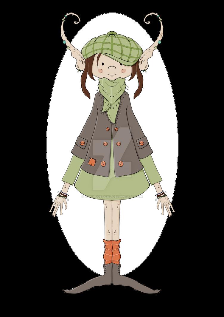 Helga ::: The Nordic Elf by painted-leaf