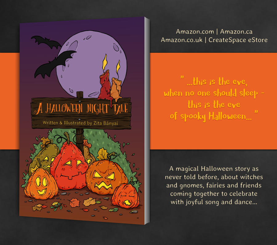 A Halloween Night Tale - Children's Book