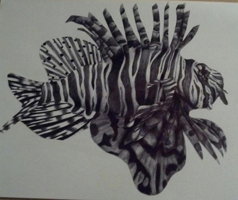 Lionfish by JackSkellington564