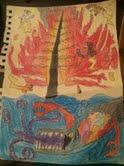 The Rajus, the Burning Fir and the Leviathon by Evometheus6082