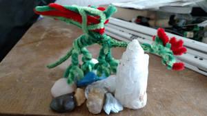 Common Welsh green dragon