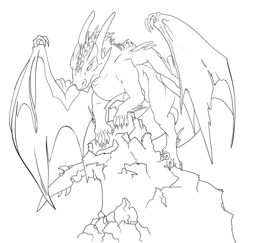 Digital Painting Without Lineart : Class sketch digital lineart by meerin on deviantart