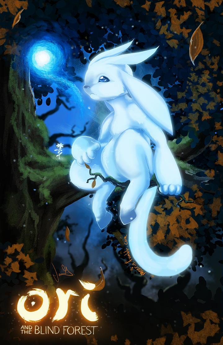 Ori and the Blind Forest by Meerin