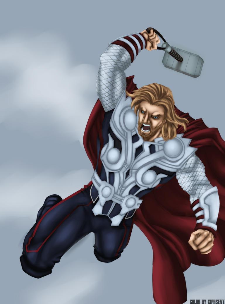 Mighty Thor by XipKseny