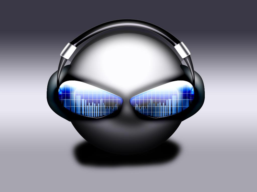 Virtual Cyber DJ Wallpaper by hello-123456