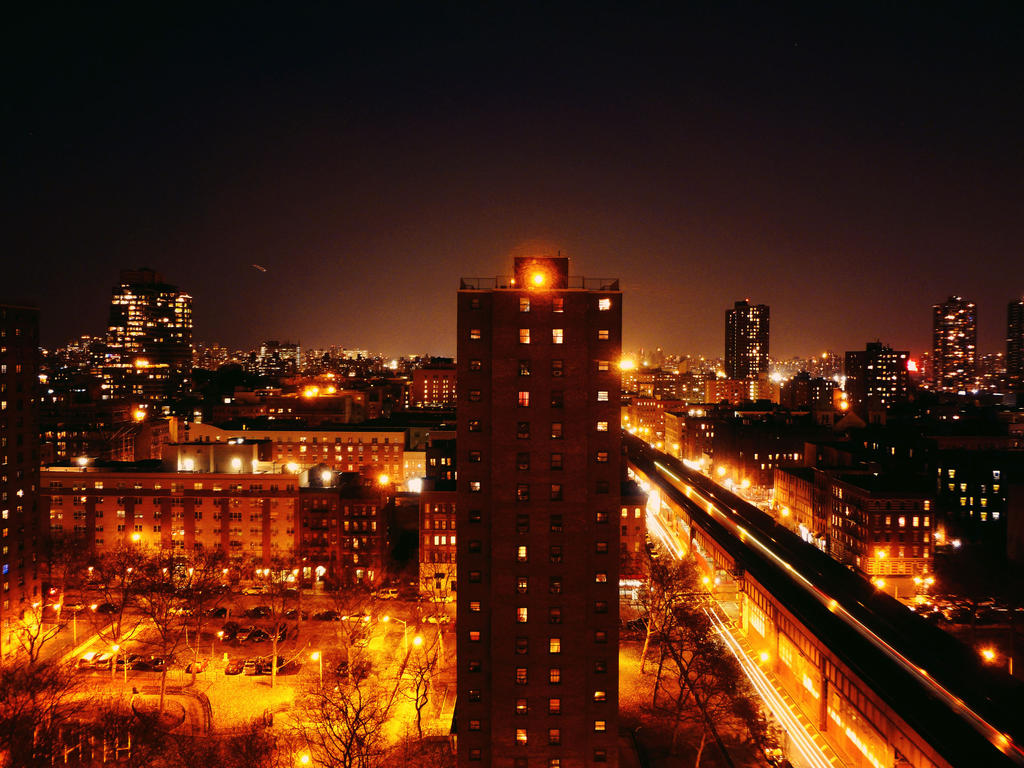 City at Night 005 by Ladyhawke81