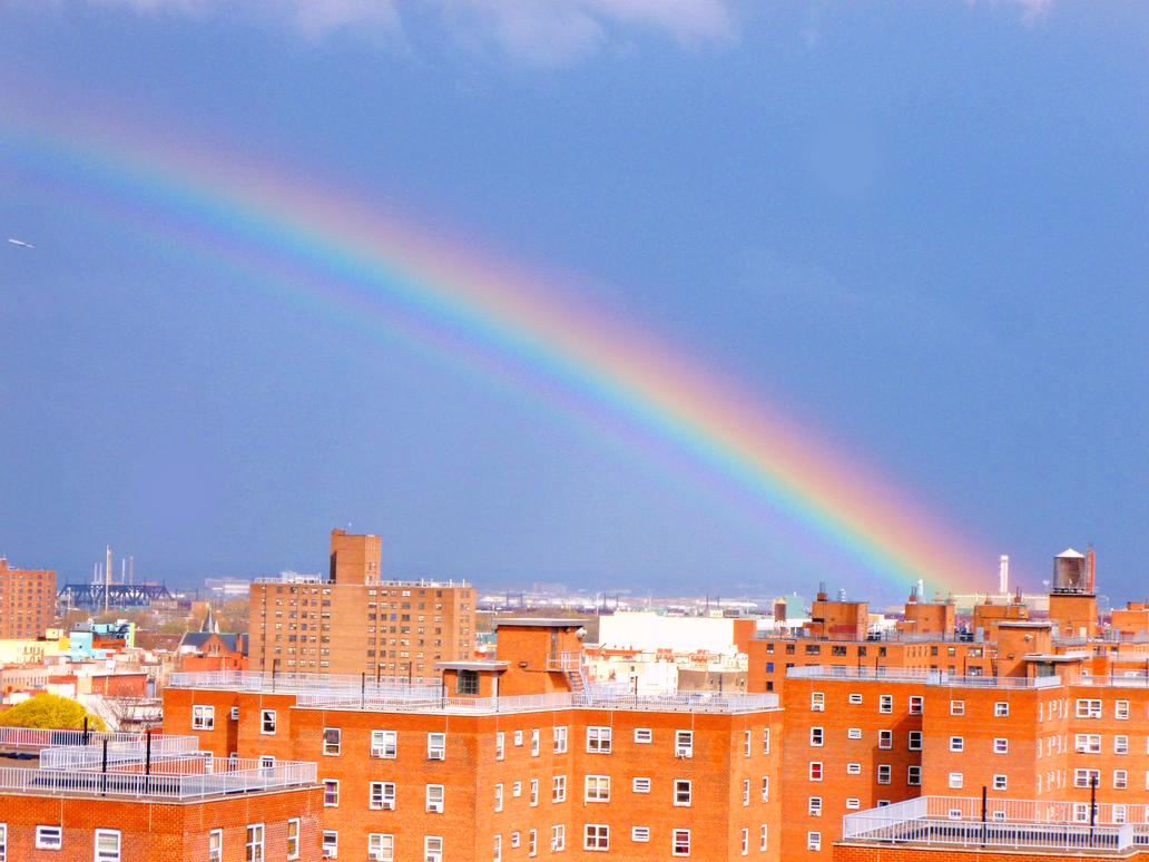 Rainbow over E. Harlem by Ladyhawke81