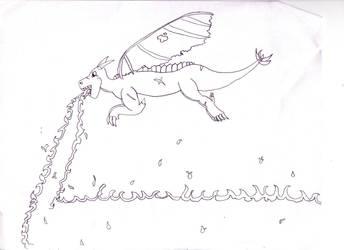 Dragon Blaze 'ruff draft' by jtspgs