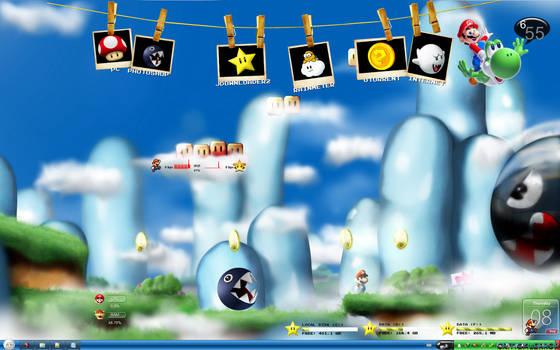 Mario Bros Windows 7 Theme