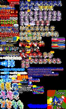 Sonic Rush DS Sprites