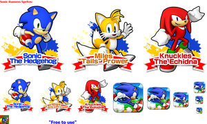 Sonic Runners Sprites 2