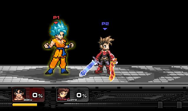 Goku Super Sayayin Dios Mod en SSF2 (NO FAKE) by