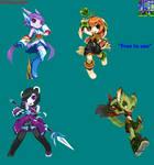 FP2 Personajes Pixel Art