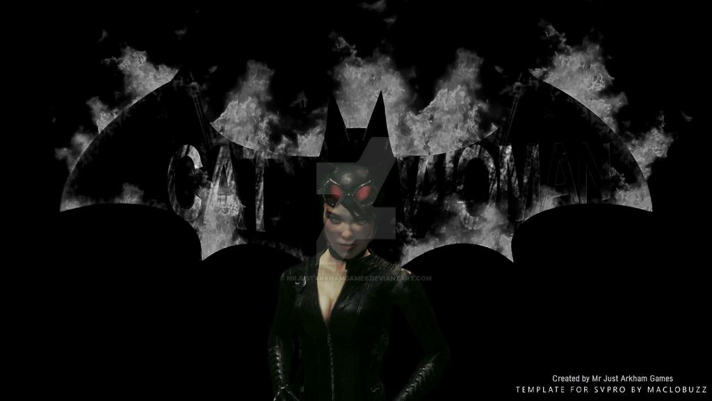 Arkham Knight Catwoman Wallpaper By MrJustArkhamGames