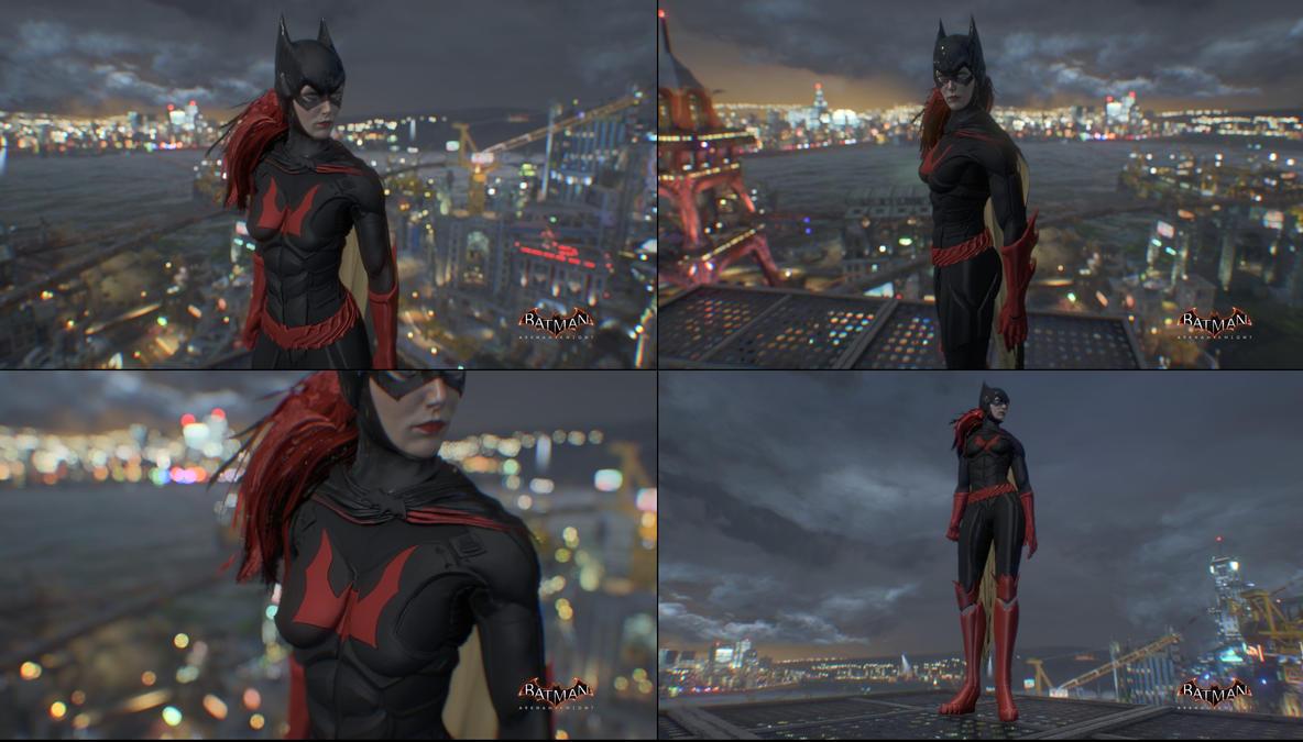 Batwoman W.I.P by MrJustArkhamGames