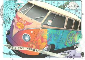 Trippy Hippy Van.