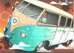 Seafoam Van for MistAngel25 by LadyWithTheHorses