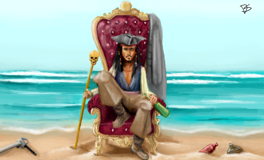 Captain Governor Jack Sparrow by DontSpeakSilent