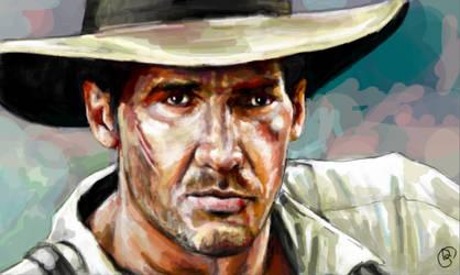 Indiana Jones by artbyamyk