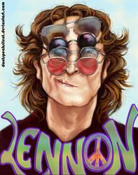 John Lennon - Collab with Zara by artbyamyk