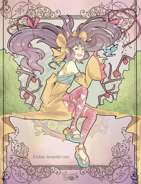Zui/Yui Art Noveau by Erickiwi