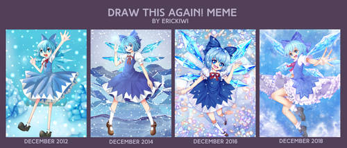 Draw this again meme 3 by Erickiwi