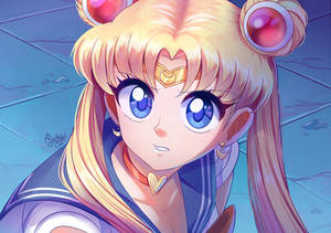 Sailor moon re draw