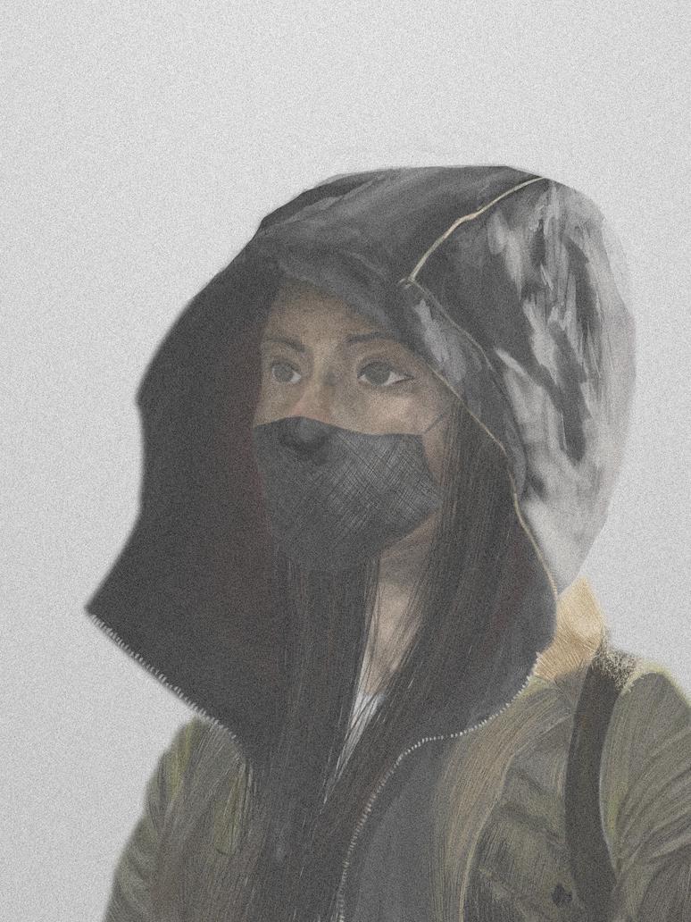 Hooded final by PaulMAFedor