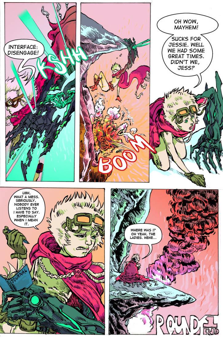 Wacky Races page 6 by JongBom on DeviantArt