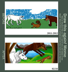 A Little Hunting Game: Redraw by MoonShineSTP