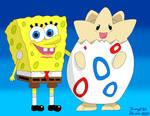 Spongebob meets Togepi