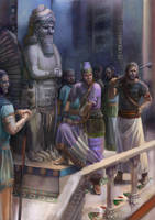 The Assyrian guys by constan-lerois