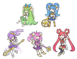 star guardians by mexng