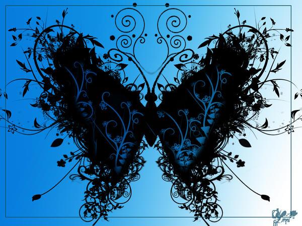 butterfly by lenileni