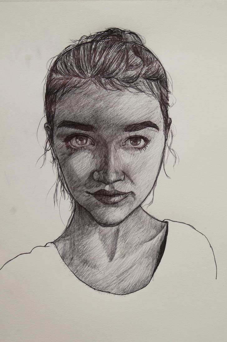 Bic Portrait - Liza Stoltz by nnicc