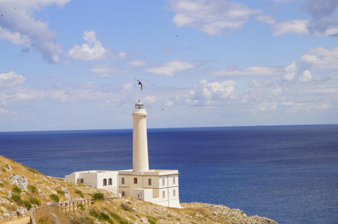 Capo d'Otranto Lighthouse by nnicc