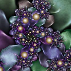 Stone Flowers by FireLilyFractals