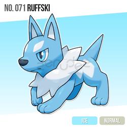 071 Ruffski by zerudez