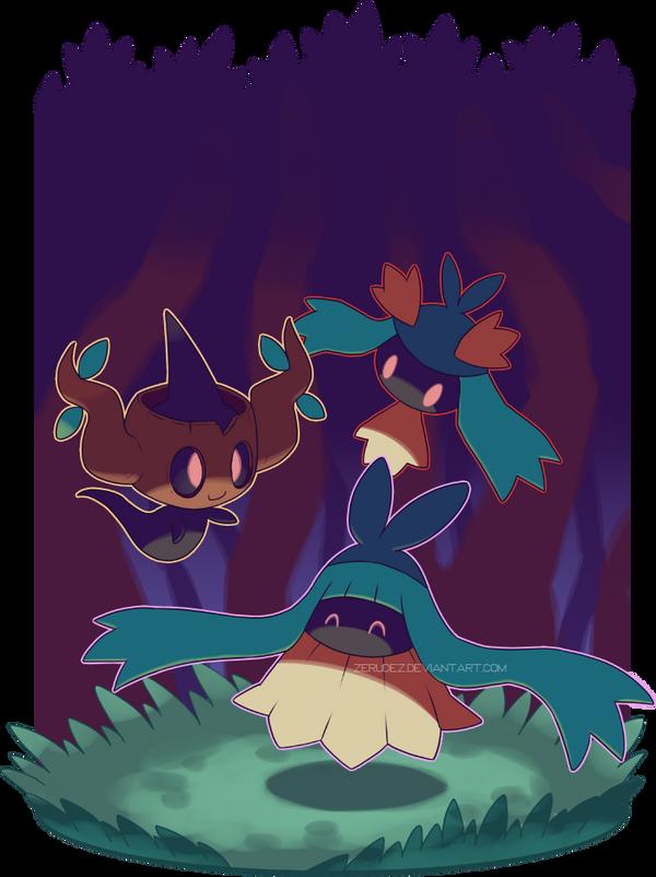 Forest playdates by zerudez