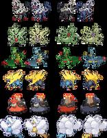 Mega Sprites by zerudez
