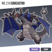 214 Darcastro by zerudez