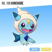 186 Konchore by zerudez