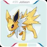 135 Jolteon