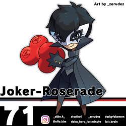 Joker-Roserade by zerudez