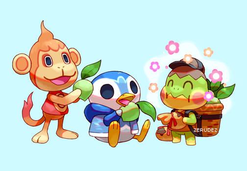 Pokemon Crossing: Sinnoh