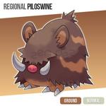 Regional Piloswine by zerudez