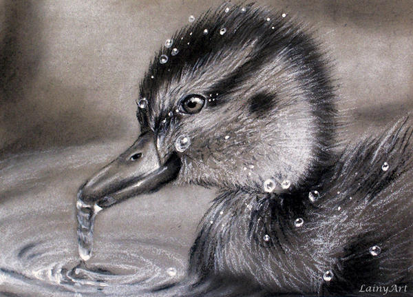 Day 228 - ACEO Drawing Project for Charity by secrets-of-the-pen