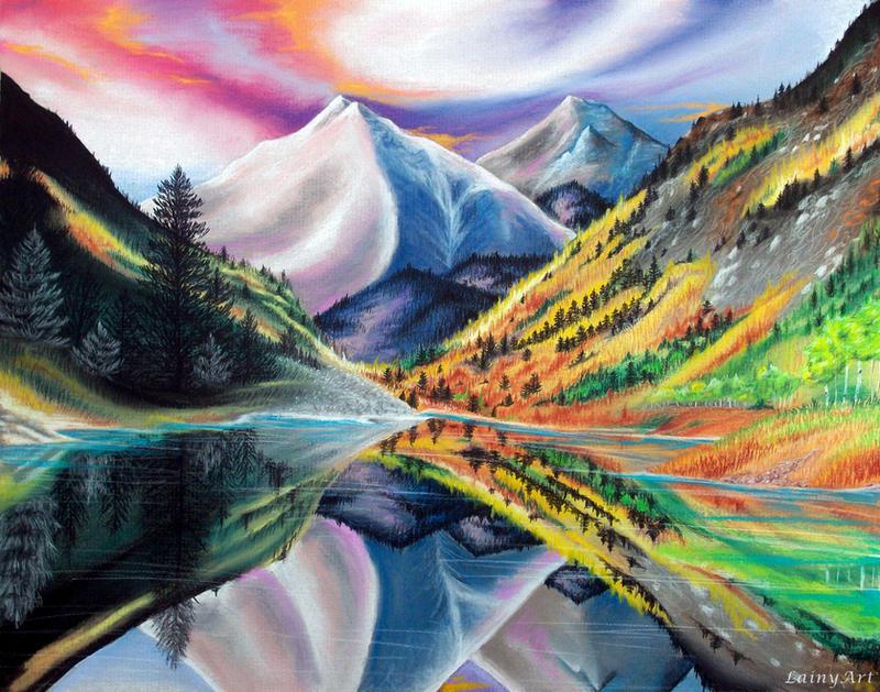 Colorado Love - Pastel Drawing