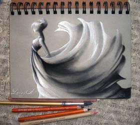 Sketch Journal - Windy Day